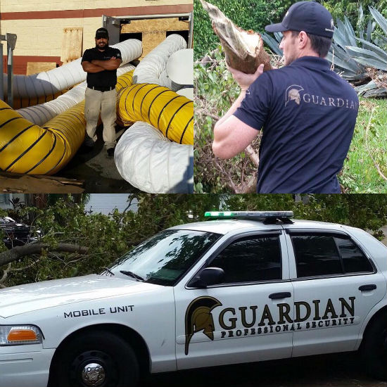 residential guards in action